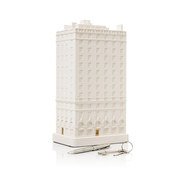 1020 Fifth Avenue Model. Product Shot Side View. Architectural Sculpture by Chisel & Mouse