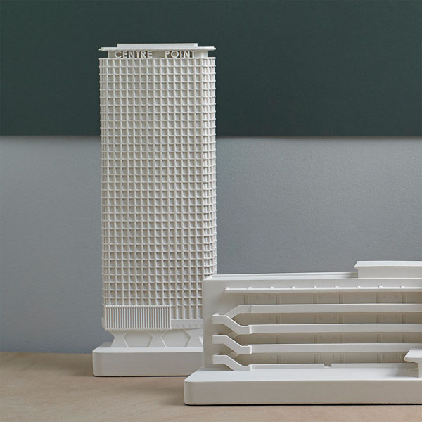 Centre Point Model. Lifestyle Shot. Architectural Sculpture by Chisel & Mouse