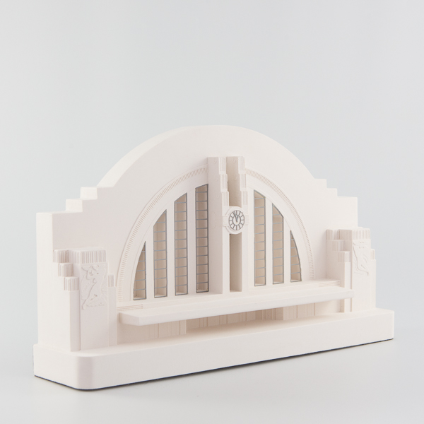 Cincinnati Union Terminal Architectural Sculpture by Chisel & Mouse
