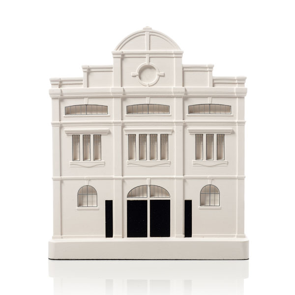 Craven Cottage Model. Product Shot Front View. Architectural Sculpture by Chisel & Mouse