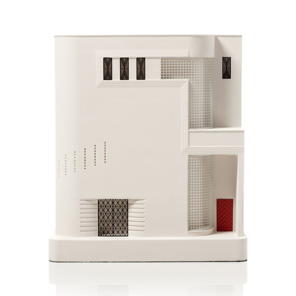 Fisher Apartments Model. Product Shot Front View. Architectural Sculpture by Chisel & Mouse