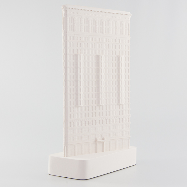 Flatiron Architectural Sculpture by Chisel & Mouse