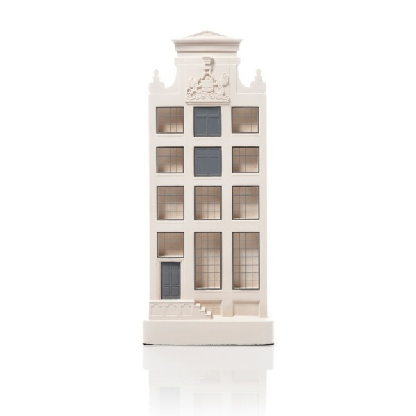Herengracht 168 Model. Product Shot Front View. Architectural Sculpture by Chisel & Mouse