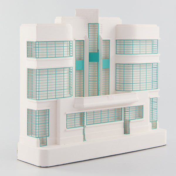 Hoover Building Architectural Sculpture by Chisel & Mouse