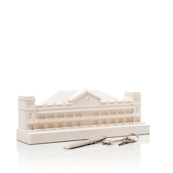 Manila Malacanang Palace Model. Product Shot Side View. Architectural Sculpture by Chisel & Mouse