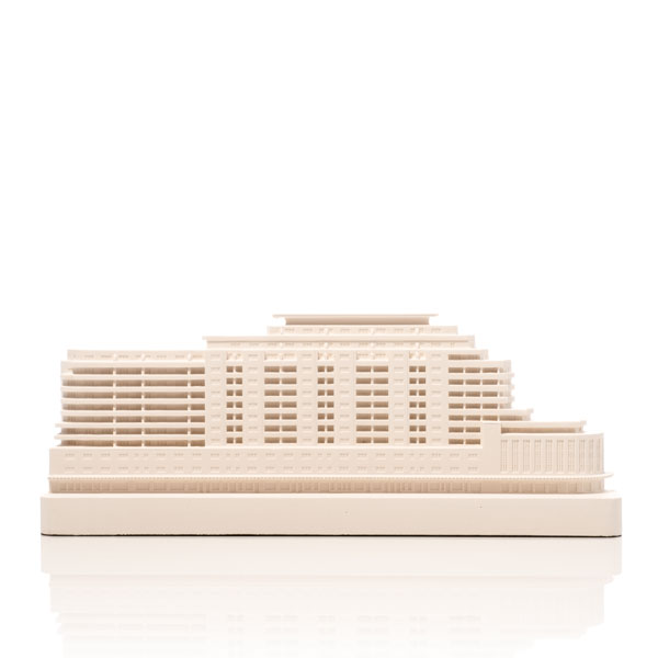Marine Court. Product Shot Front View. Architectural Sculpture by Chisel & Mouse