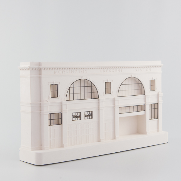 Mornington Crescent Station Architectural Sculpture by Chisel & Mouse