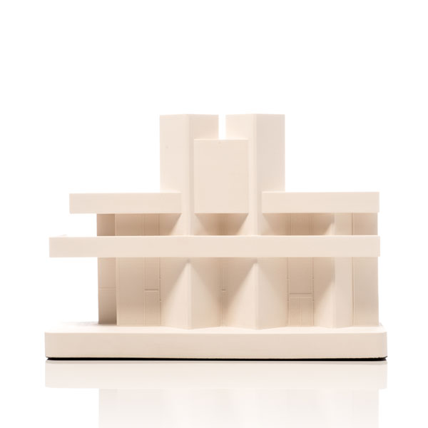 National Theatre Model. Product Shot Front View. Architectural Sculpture by Chisel & Mouse