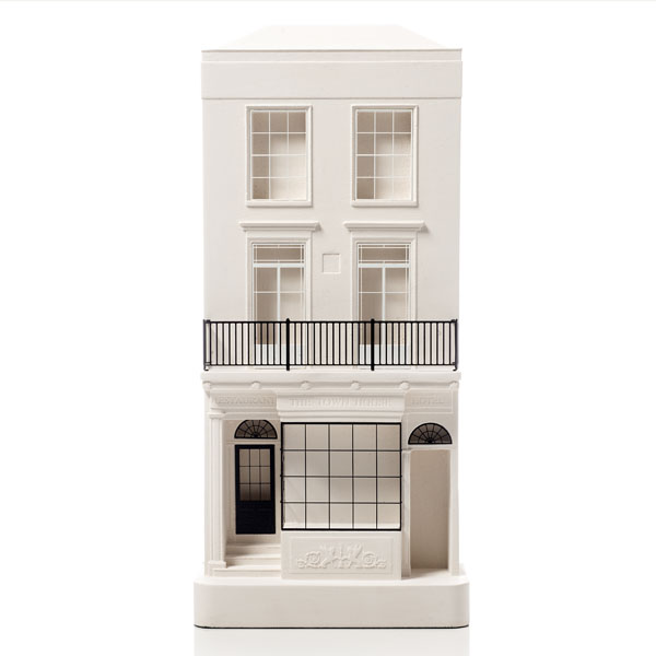 Town House Arundel Model. Product Shot Front View. Architectural Sculpture by Chisel & Mouse