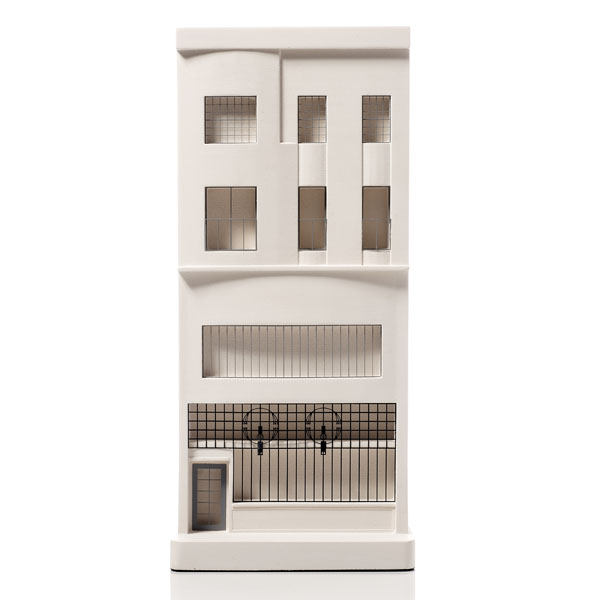 Willow Tearooms Model. Product Shot Front View. Architectural Sculpture by Chisel & Mouse